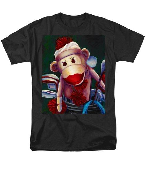 Golfer Made Of Sockies Men's T-Shirt  (Regular Fit)