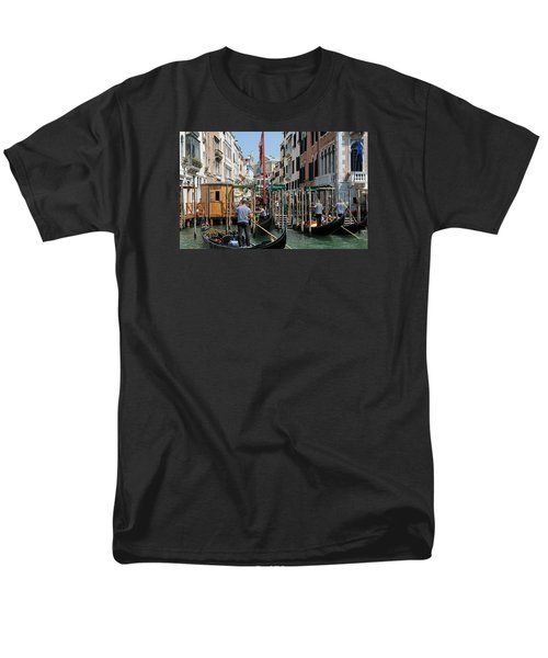 Men's T-Shirt  (Regular Fit) featuring the photograph Gondoliers by Robert  Moss