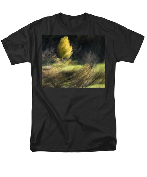 Men's T-Shirt  (Regular Fit) featuring the photograph Gone With The Wind by Raffaella Lunelli