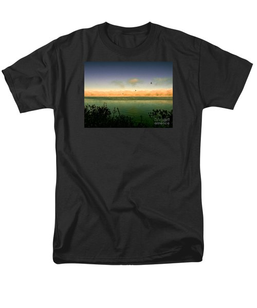Men's T-Shirt  (Regular Fit) featuring the photograph Good Morning Lake Winnisquam by Mim White