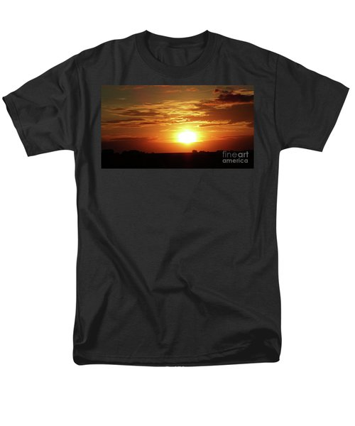 Men's T-Shirt  (Regular Fit) featuring the photograph Good Morning Sun  by J L Zarek