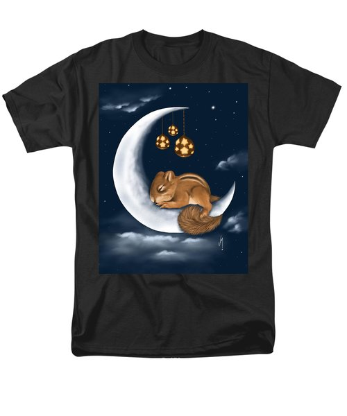 Men's T-Shirt  (Regular Fit) featuring the painting Good Night by Veronica Minozzi