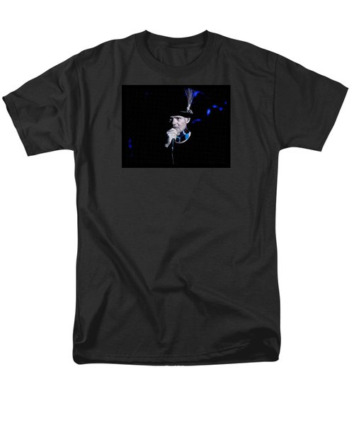 Men's T-Shirt  (Regular Fit) featuring the mixed media Gord Downie In Concert by Maciek Froncisz