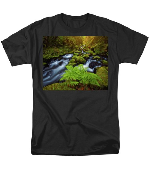 Men's T-Shirt  (Regular Fit) featuring the photograph Gorton Creek Fern by Darren White
