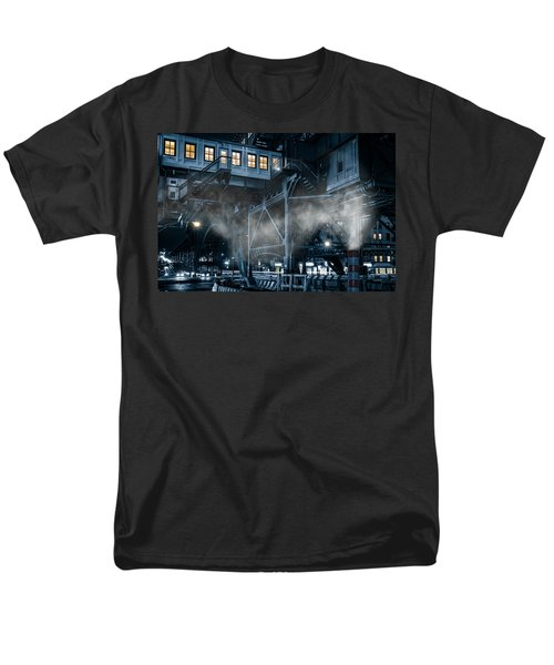 Gotham City Men's T-Shirt  (Regular Fit) by Mihai Andritoiu