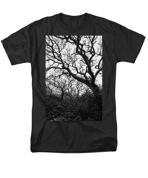 Gothic Woods II Men's T-Shirt  (Regular Fit) by Marco Oliveira