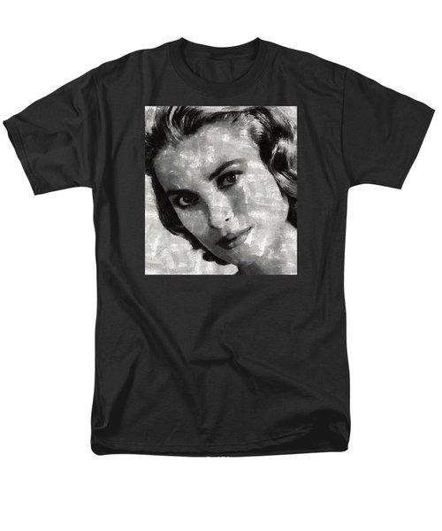 Grace Kelly Men's T-Shirt  (Regular Fit) by Mary Bassett