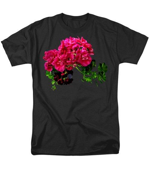 Graceful Geraniums Men's T-Shirt  (Regular Fit) by Susan Savad