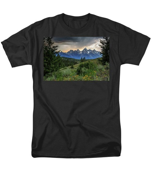 Grand Stormy Sunset Men's T-Shirt  (Regular Fit) by David Chandler