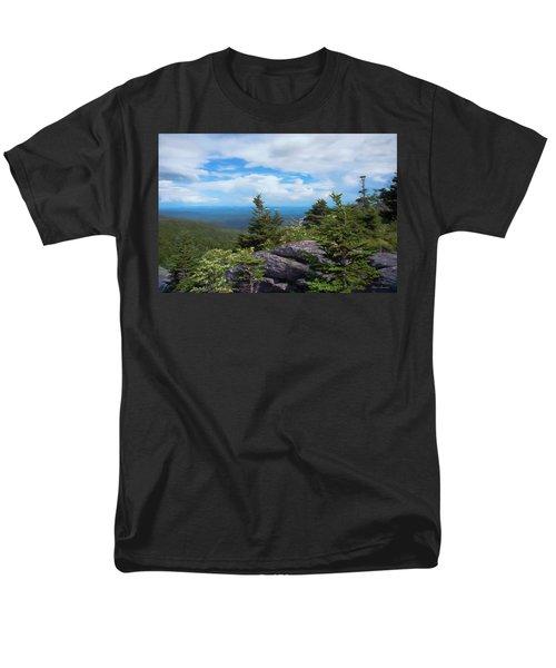Grandfather Mountain Men's T-Shirt  (Regular Fit) by Glenn Gemmell