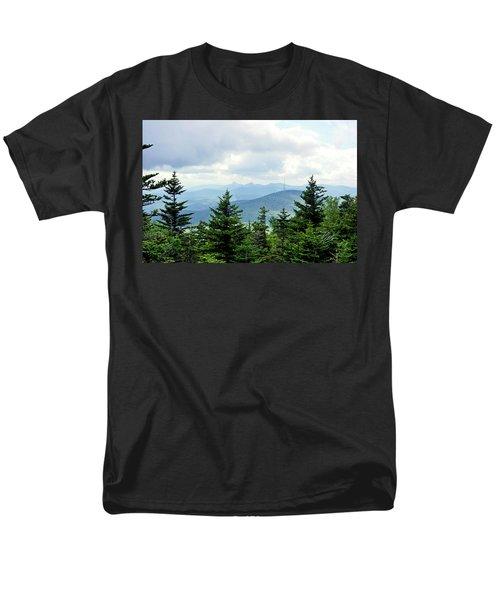 Men's T-Shirt  (Regular Fit) featuring the photograph Grandmother Mountain by Meta Gatschenberger