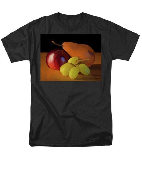 Grapes Plum And Pear 01 Men's T-Shirt  (Regular Fit) by Wally Hampton