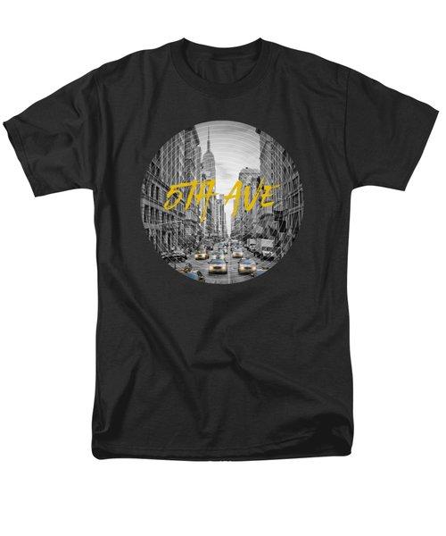 Graphic Art Nyc 5th Avenue Men's T-Shirt  (Regular Fit)