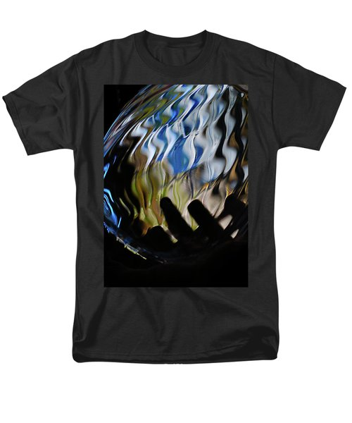 Men's T-Shirt  (Regular Fit) featuring the photograph Grasping At Curves by Susan Capuano