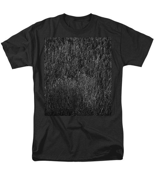 Grass Black And White Men's T-Shirt  (Regular Fit) by Glenn Gemmell