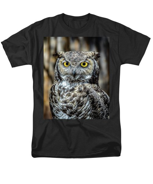 Men's T-Shirt  (Regular Fit) featuring the photograph Whooo Me ? by Phil Abrams