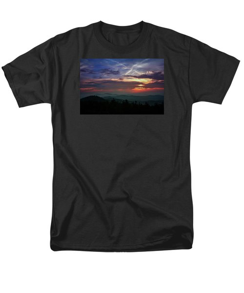 Men's T-Shirt  (Regular Fit) featuring the photograph Great Smoky Sunsets by Jessica Brawley