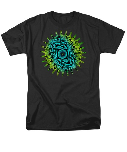 Green Dragon Eye Men's T-Shirt  (Regular Fit) by Anastasiya Malakhova