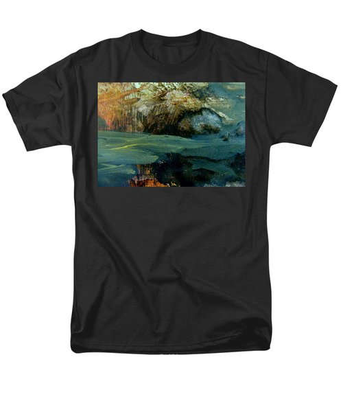 Green Fog Men's T-Shirt  (Regular Fit) by Nancy Kane Chapman