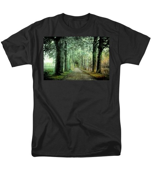 Men's T-Shirt  (Regular Fit) featuring the photograph Green Magic by Annie Snel