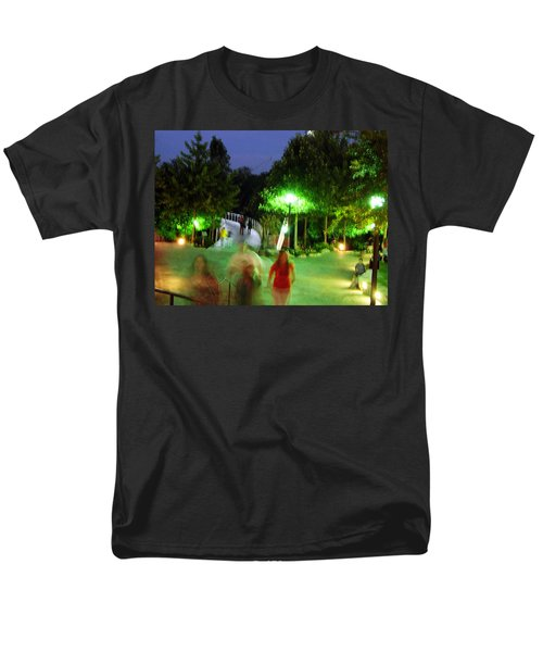 Greenville At Night Men's T-Shirt  (Regular Fit) by Flavia Westerwelle