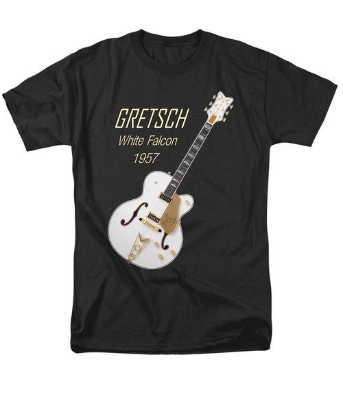 Gretsch  White Falcon 1957 Men's T-Shirt  (Regular Fit) by Shavit Mason