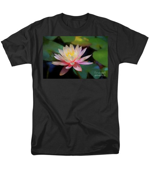 Grutas Water Lilly Men's T-Shirt  (Regular Fit) by John Kolenberg