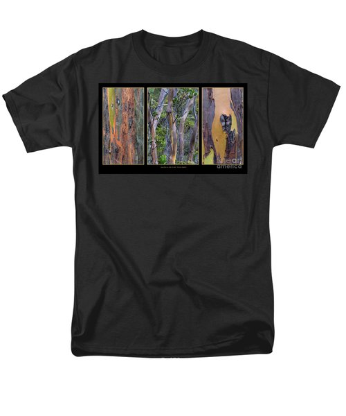 Gum Trees At Lake St Clair Men's T-Shirt  (Regular Fit) by Werner Padarin