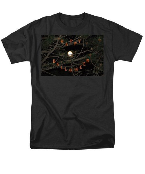 Halloween Card Men's T-Shirt  (Regular Fit) by Aimee L Maher Photography and Art Visit ALMGallerydotcom