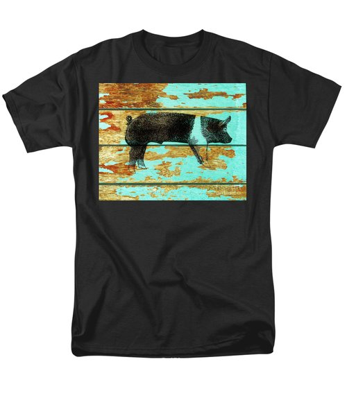 Hampshire Boar 1 Men's T-Shirt  (Regular Fit) by Larry Campbell