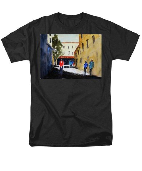 Hang Ah Alley2 Men's T-Shirt  (Regular Fit) by Tom Simmons
