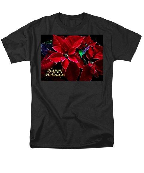 Happy Holidays Men's T-Shirt  (Regular Fit) by Sandy Keeton