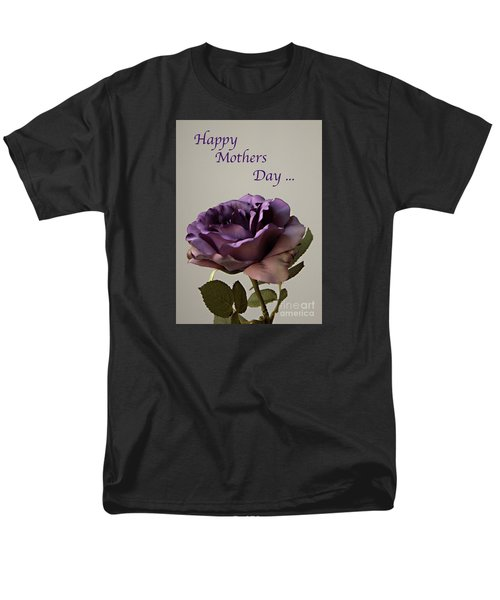Happy Mothers Day No. 2 Men's T-Shirt  (Regular Fit) by Sherry Hallemeier
