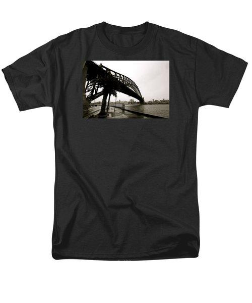 Harbour Bridge Men's T-Shirt  (Regular Fit) by Mark Nowoslawski