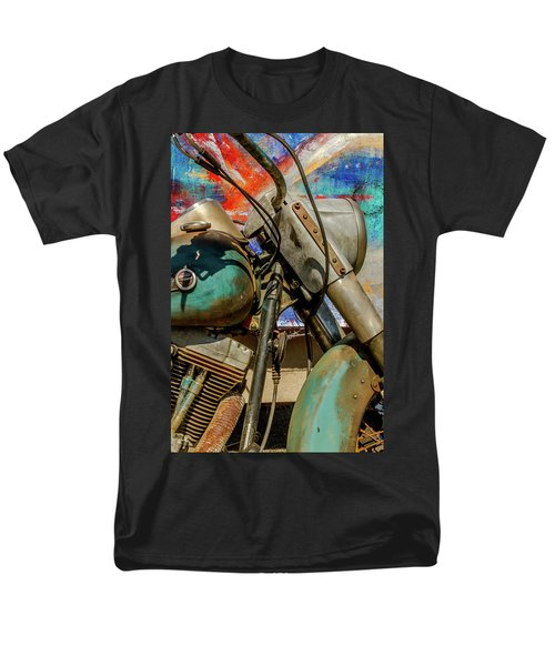 Men's T-Shirt  (Regular Fit) featuring the photograph Harley Davidson - American Icon II by Bill Gallagher