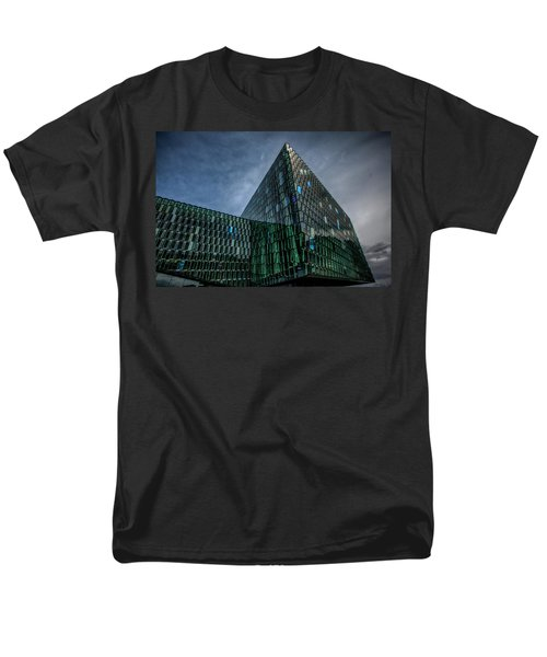 Harpa Men's T-Shirt  (Regular Fit) by Wade Courtney