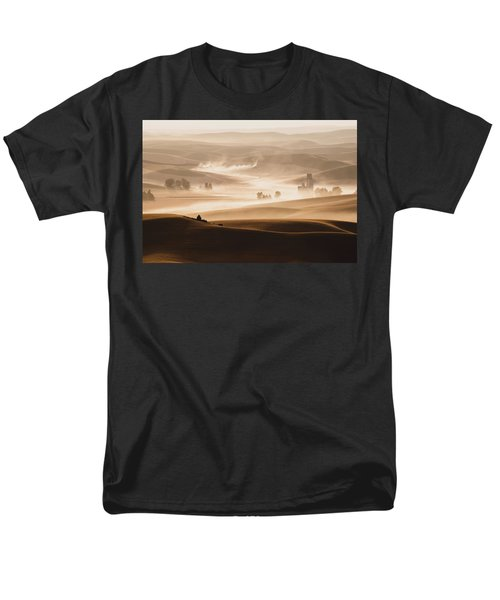 Harvest Dust Men's T-Shirt  (Regular Fit) by Chris McKenna