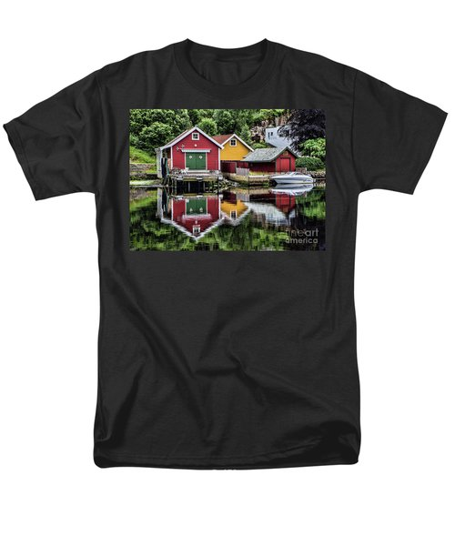 Haugesund Reflections Men's T-Shirt  (Regular Fit)