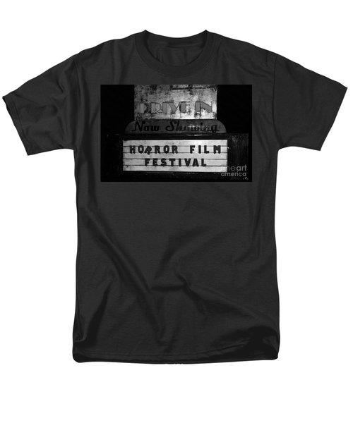 Haunted Drive In Men's T-Shirt  (Regular Fit) by David Lee Thompson
