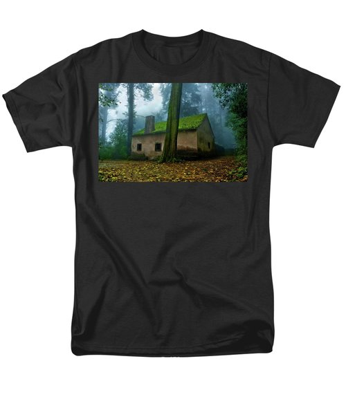 Men's T-Shirt  (Regular Fit) featuring the photograph Haunted House by Jorge Maia