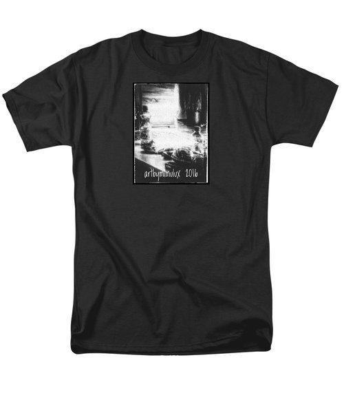 Men's T-Shirt  (Regular Fit) featuring the photograph Haunted Room I by Mimulux patricia no No