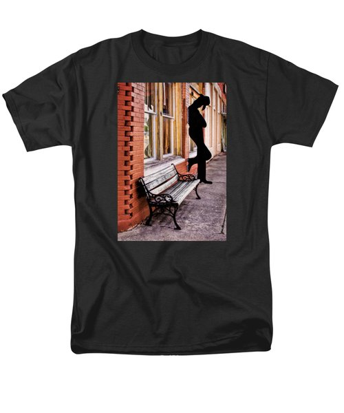 Have A Seat Men's T-Shirt  (Regular Fit) by David and Carol Kelly
