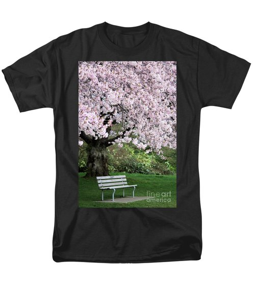 Men's T-Shirt  (Regular Fit) featuring the photograph Have A Seat by Victor K