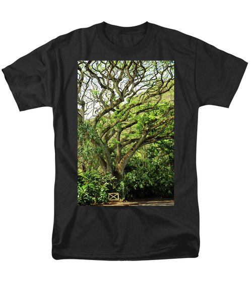 Men's T-Shirt  (Regular Fit) featuring the photograph Hawaii Tree-bard by Denise Moore