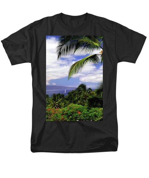 Hawaiian Fantasy Men's T-Shirt  (Regular Fit) by Marie Hicks