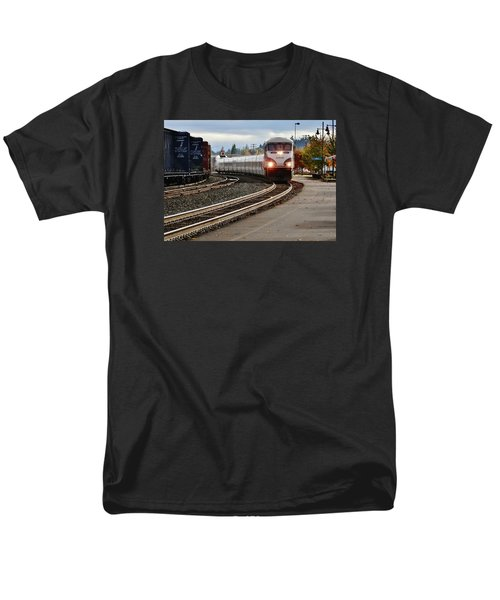 Heading For Portland Men's T-Shirt  (Regular Fit) by VLee Watson