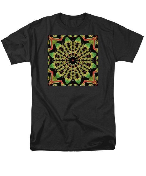 Men's T-Shirt  (Regular Fit) featuring the photograph Healing Mandala 13 by Bell And Todd