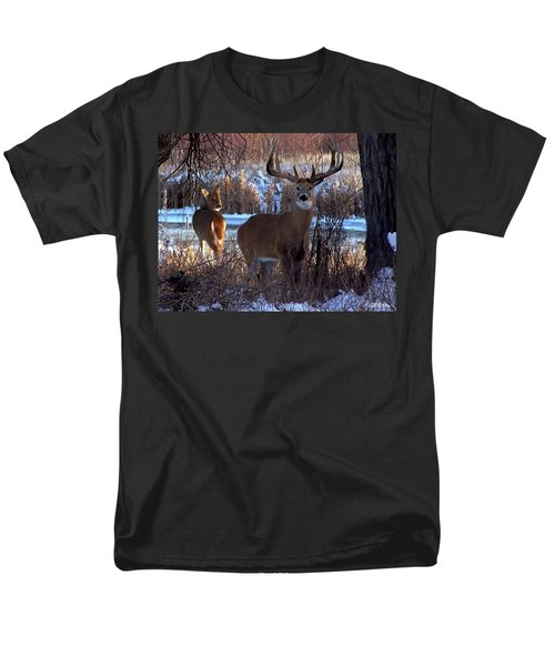 Heartbeat Of The Wild Men's T-Shirt  (Regular Fit) by Bill Stephens