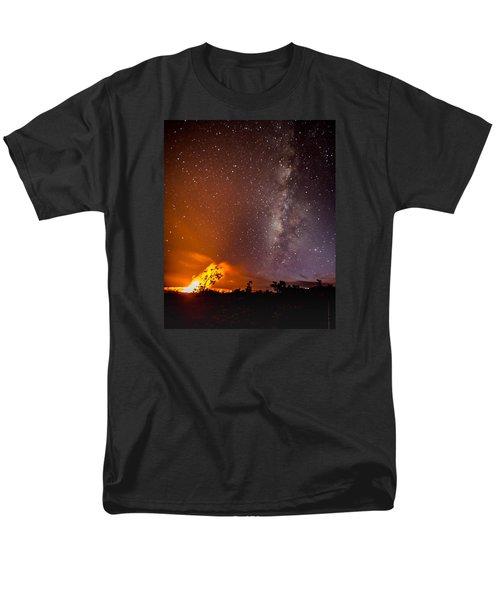 Heaven And Hell Men's T-Shirt  (Regular Fit) by Allen Biedrzycki