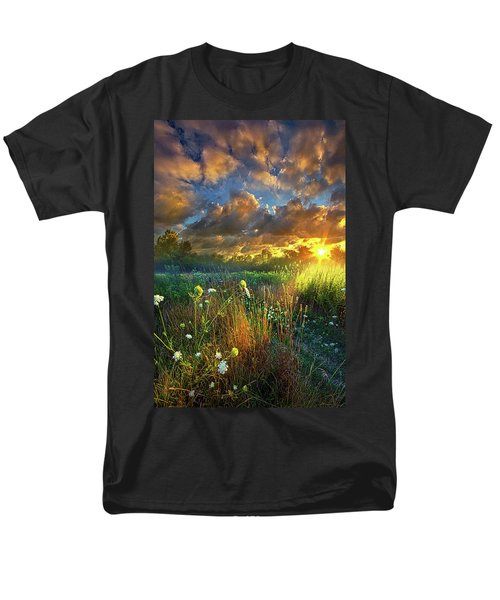 Heaven Knows Men's T-Shirt  (Regular Fit) by Phil Koch